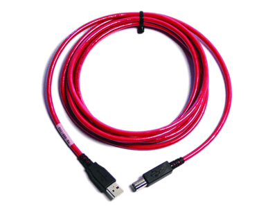 Cable USB  A/B Overmolded Wide Temp 10FT